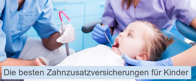 Die besten Zahnzusatzversicherungen für Kinder