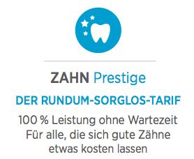 die Bayerische - Zahn Prestige - Rundum Sorglos Tarif